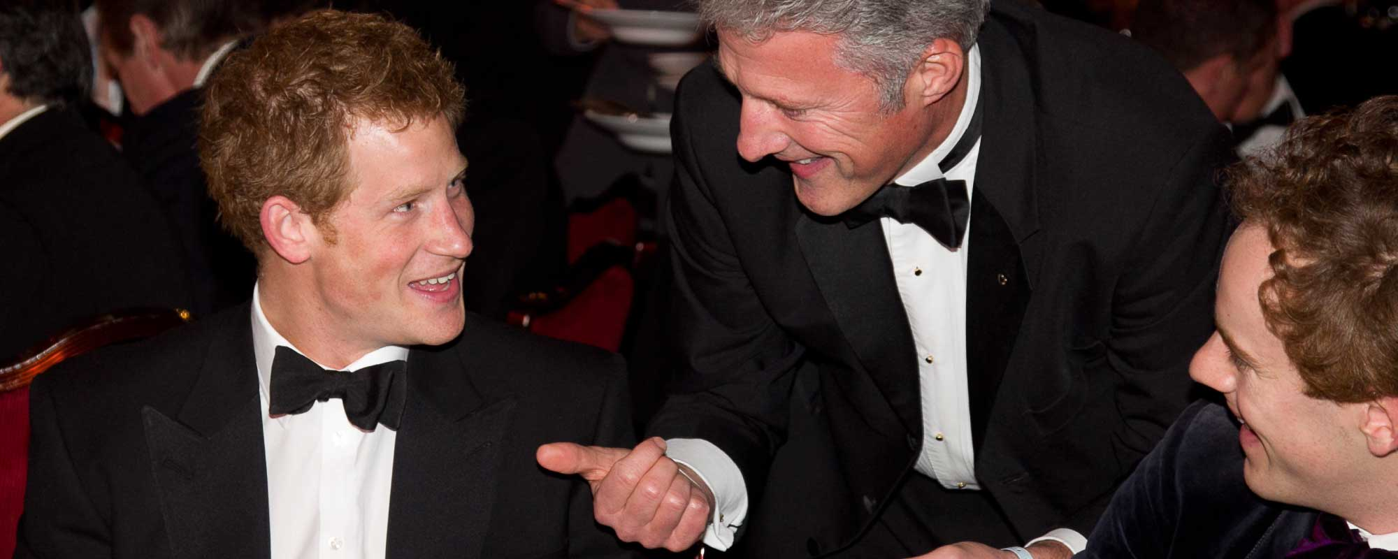 David Redfearn Magician and Prince Harry