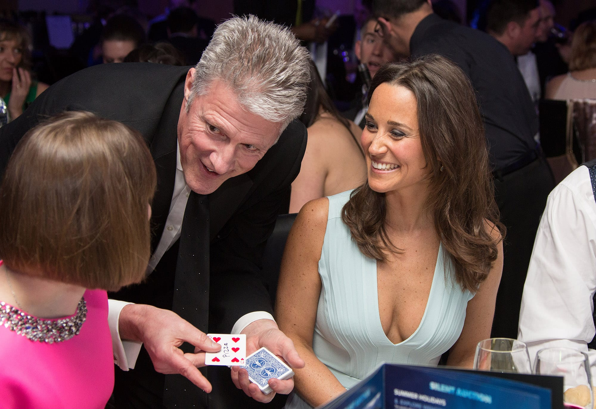 David Redfearn Magician & Pippa Middleton
